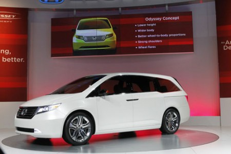 2011 Honda Odyssey Concept @ The Chicago Auto Show