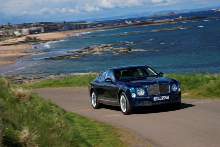 "2011 Bentley Mulsanne: Battle ""Royal"""