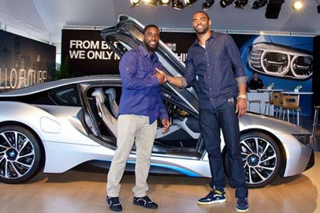 Pro Athletes Challenge BMW's Ultimate Driving Experience: Driving is Believing