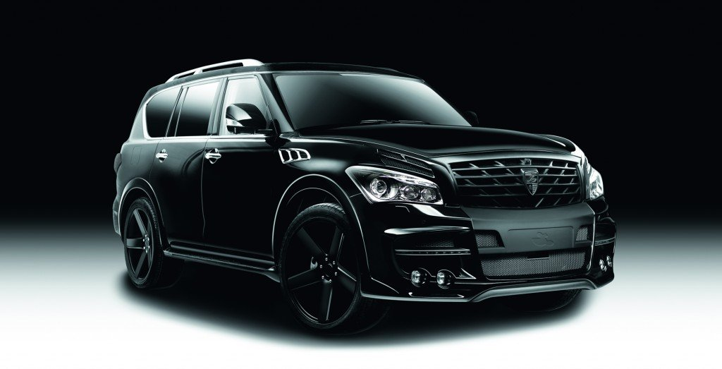 1 Larte QX80 black side front