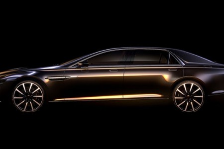 Aston Martin confirms Lagonda bespoke super saloon