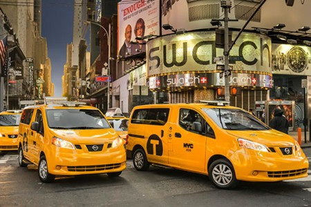 Nissan NV200: Taxi Icons