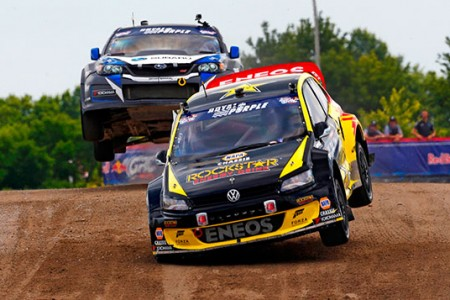 Tanner Foust Wins Red Bull Global Rallycross