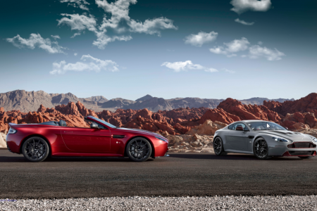 New Aston Martin V12 Vantage S Roadster Set for Global Debut at Pebble Beach