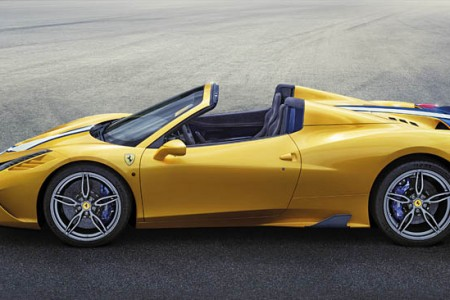 Ferrari 458 Speciale A at the Paris Auto Show