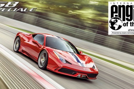 Ferrari takes Best Performance Engine and Above 4-liter Engine accolades for the fourth year running
