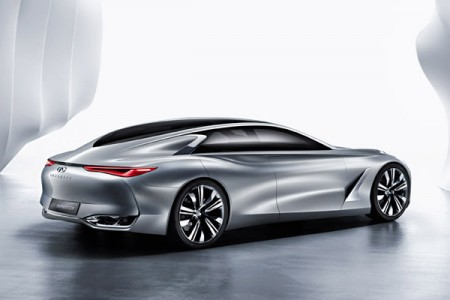 Infiniti Q80 Inspiration at the 2014 Paris Auto Show