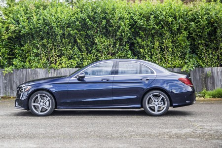 AROUND THE BLOCK: 2015 Mercedes-Benz C300W4 – Decidedly Upscale