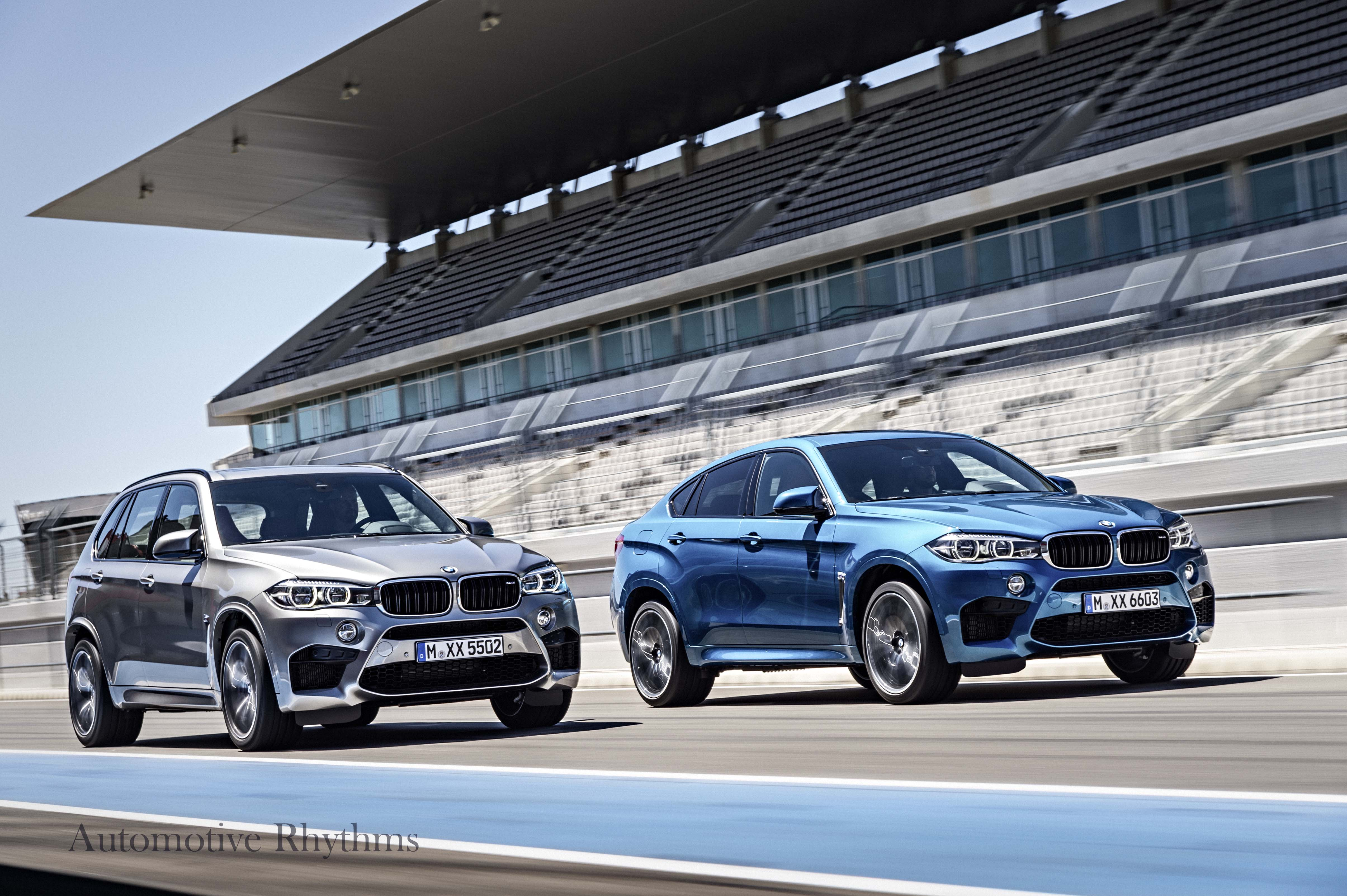 All New BMW X5 M and BMW X6 M