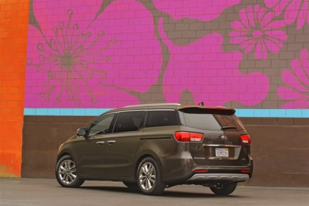 2015 Kia Sedona: Cool Kids Van of Choice