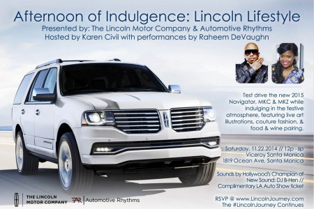 An Afternoon of Indulgence: Lincoln Lifestyle