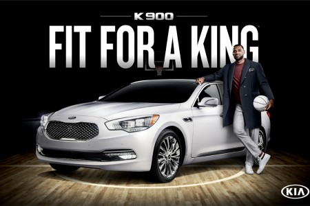 Lebron James Shines the Spotlight on Kia's Flagship Sedan as the Brand's First-Ever Luxury Ambassador