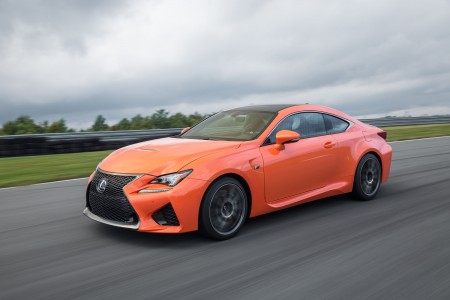 2015 Lexus RC F Track Video: Running of the Bulls