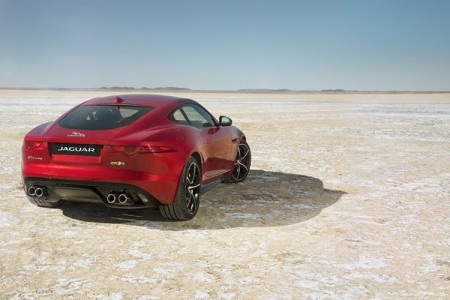 Jaguar transforms the 2016 F-TYPE R Coupe with the addition of standard All-Wheel-Drive