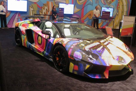 2014 Miami Auto Show: Cars Meet Art