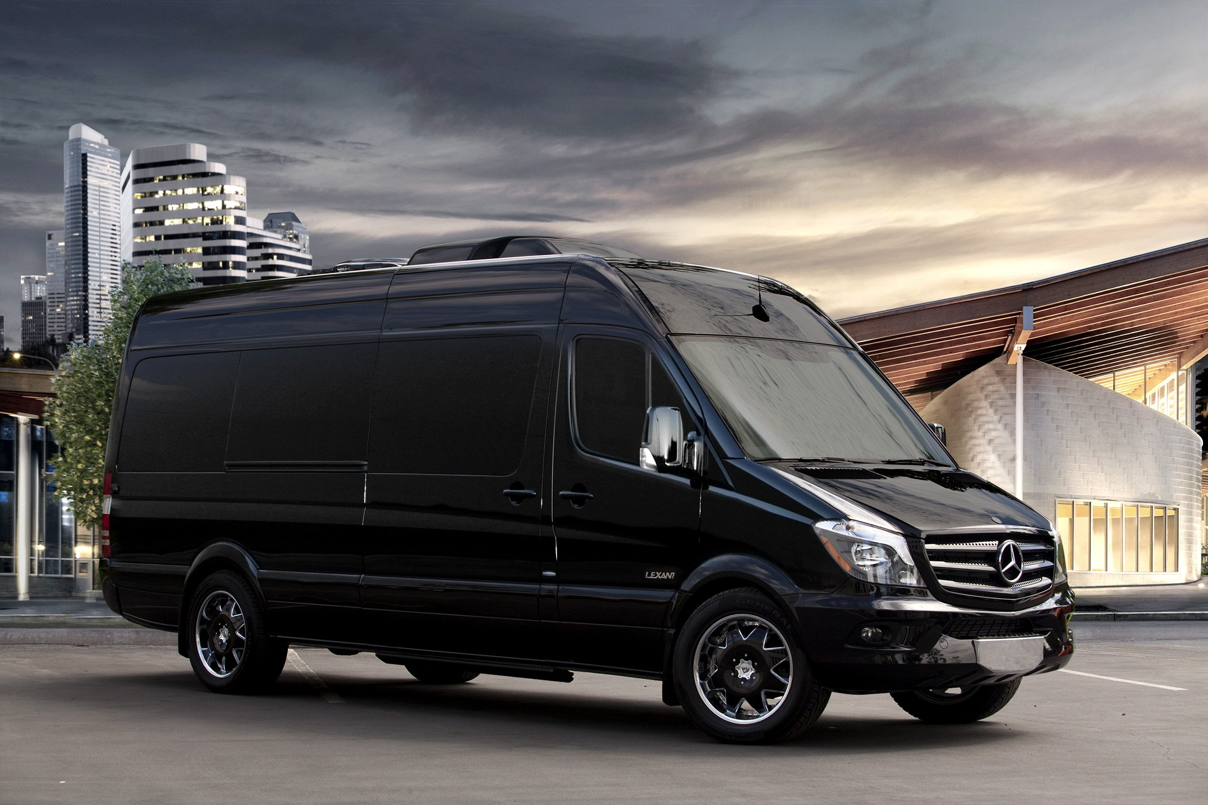 Lexani motorcars introduces the andalucia a sprinter for Mercedes benz sprinter 2014