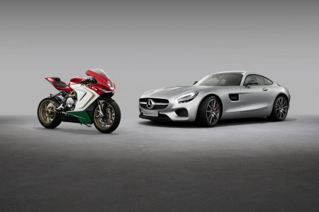 Mercedes-AMG and MV Agusta Announce Partnership