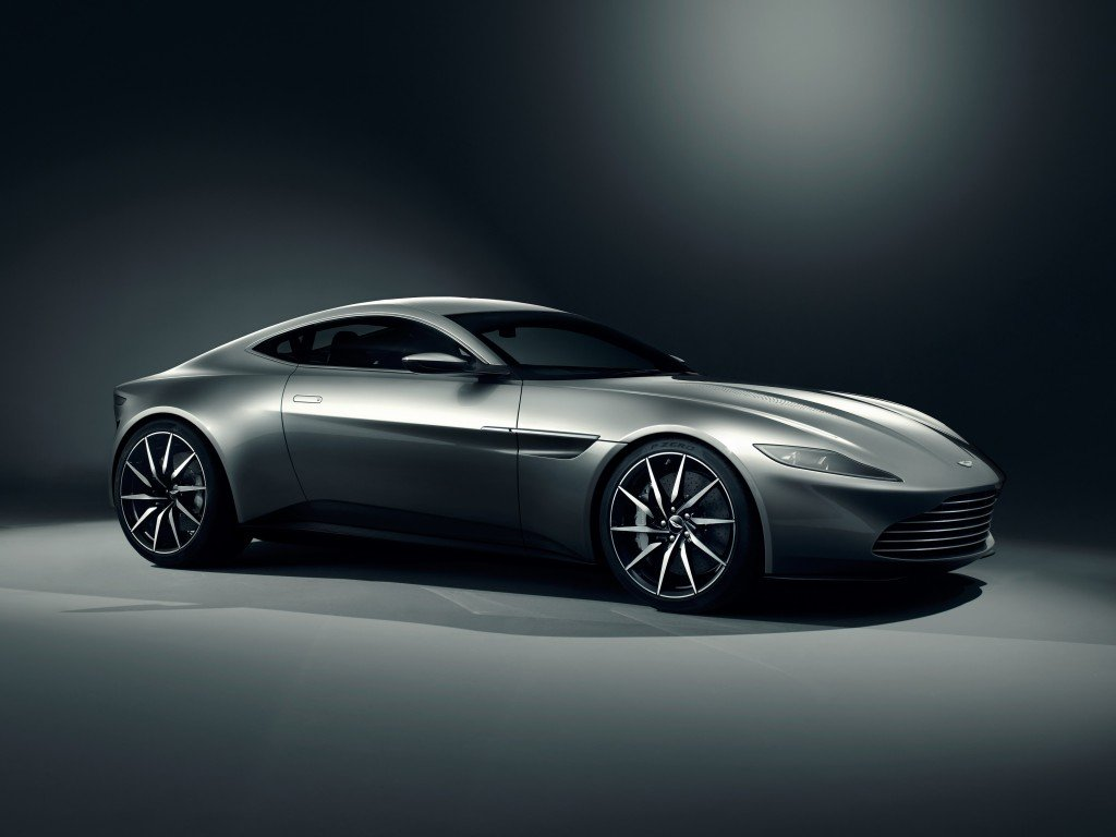 Aston Martin DB10  Front Three Quarter low res