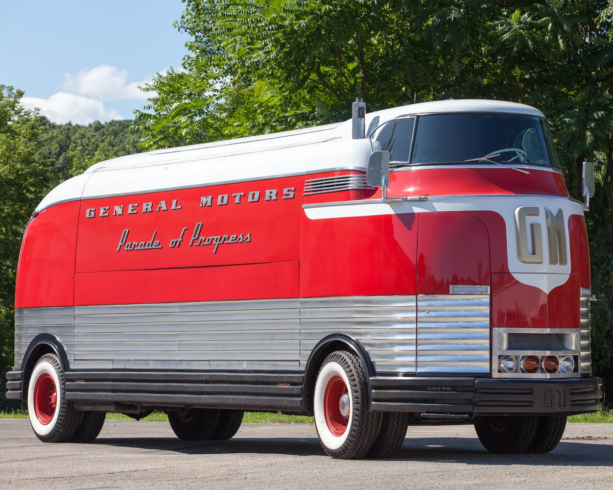 1940 General Motors Futurliner Celebrates 75th Anniversary