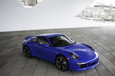 Porsche GTS Club Coupe revealed at the new PCNA Headquarters