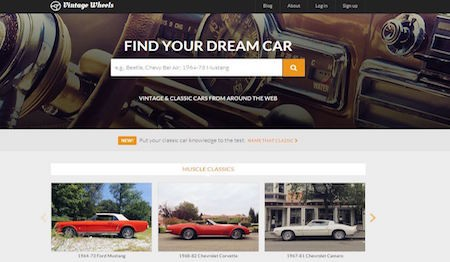 "Vintage Wheels Premieres Automotive ""Taste Test"" for Discovering the Classics that Match Your Style"