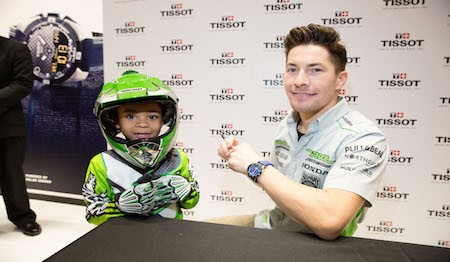 Tissot, famous Swiss watch brand, Hosts Fan Meet and  Greet with MotoGP World Champion Nicky Hayden at Fifth Avenue Boutique