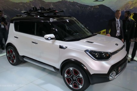 Kia Trail'ster Concept Shown at the 2015 Chicago Auto Show
