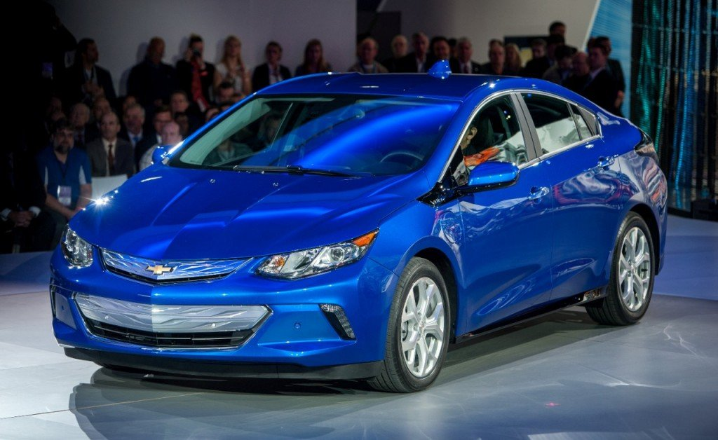 2016 Chevrolet Volt electric car