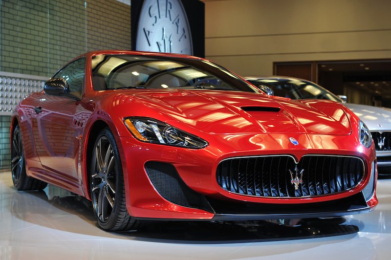 Maserati GranTurismo MC Centennial Edition at CAIS 2015