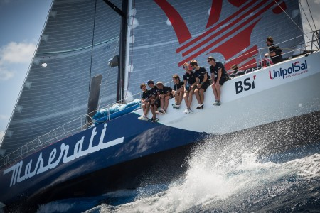 Maserati and Giovanni Soldini Begin the RORC Caribbean 600 Race