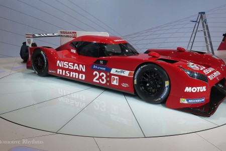 Nissan GT-R LM NISMO Racer Unveiled at the 2015 Chicago Auto Show