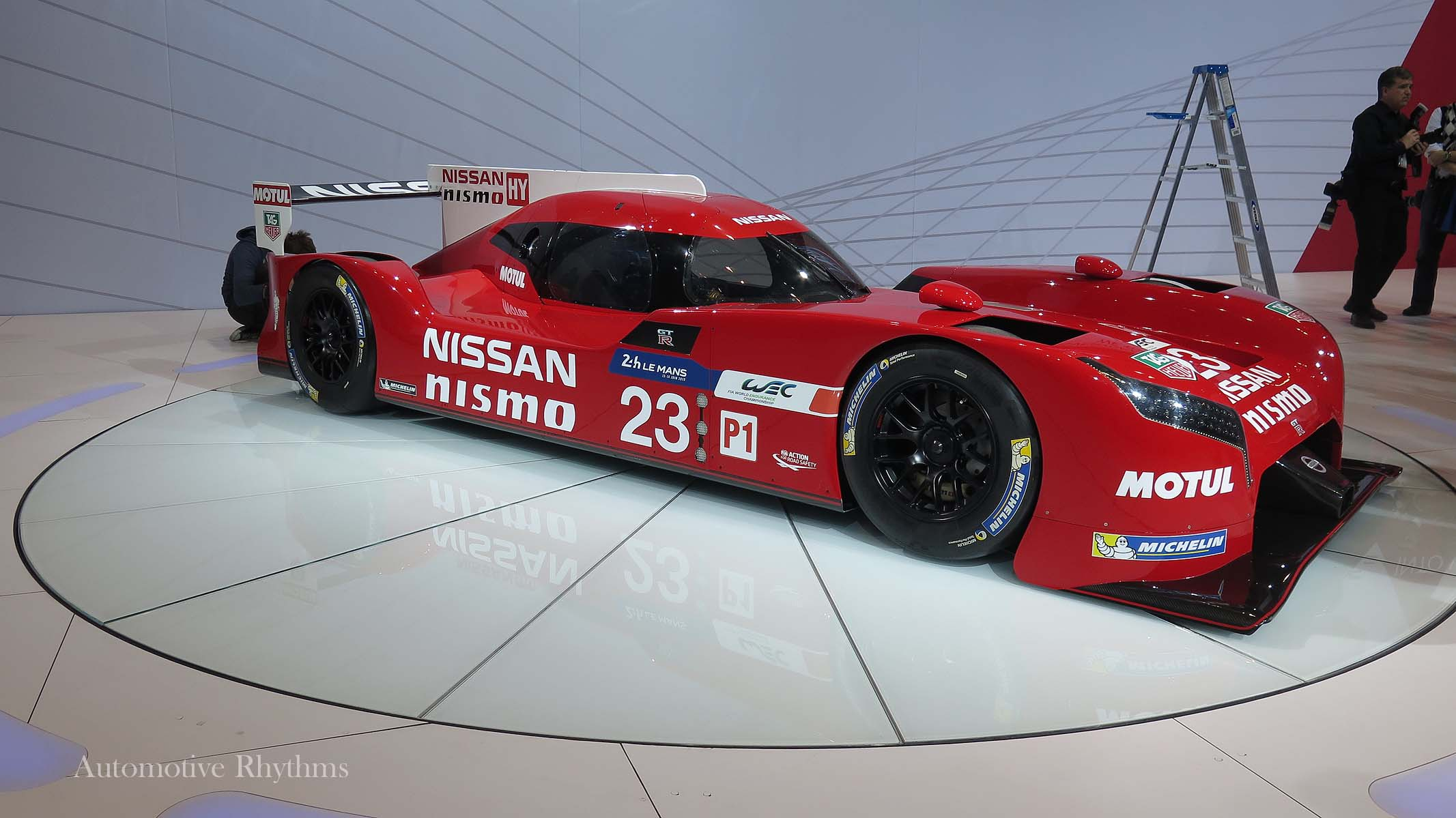 Nissan GTR LM NISMO Racer Unveiled at the 2015 Chicago Auto Show