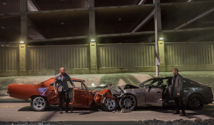 Furious 7 Photo Sequence: One Last Ride