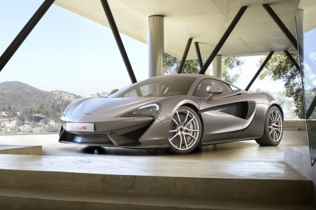 McLAREN 570S COUPE UNVEILED IN NEW YORK