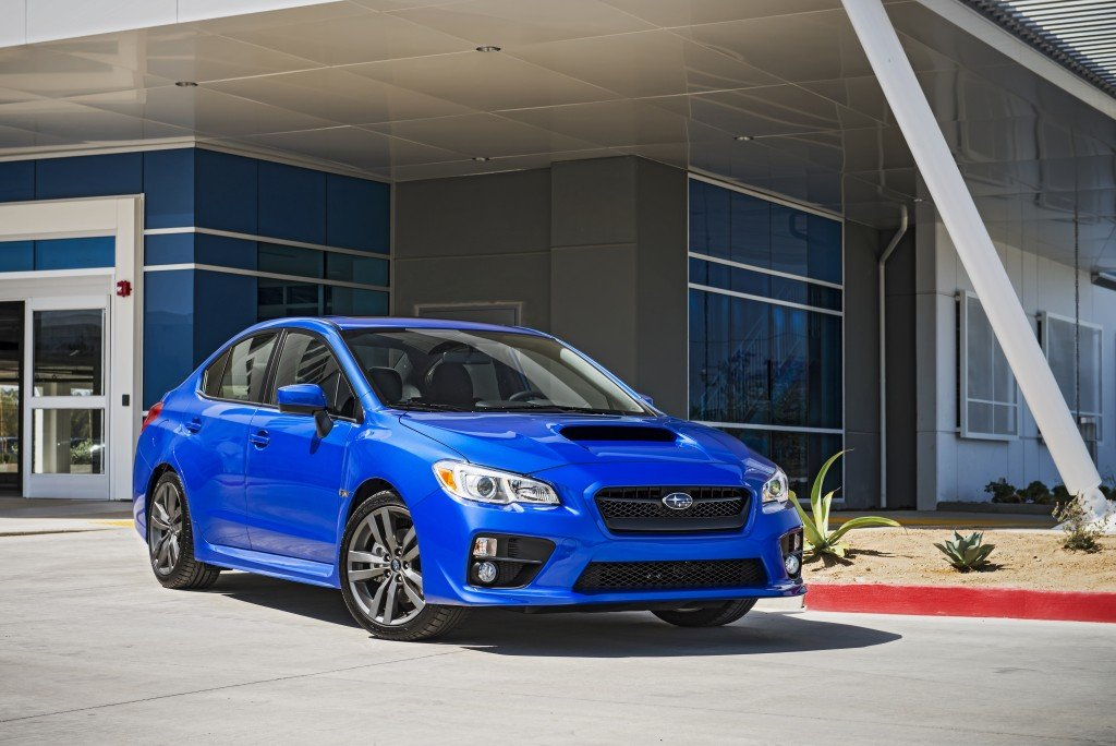 subaru introduces 2016 wrx and wrx sti models automotive rhythms. Black Bedroom Furniture Sets. Home Design Ideas