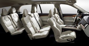 The all-new Volvo XC90 - seven-seat interior overview