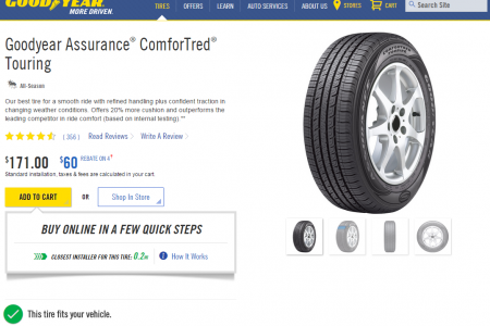 Goodyear Debuts Online Tire Sales in Chicago