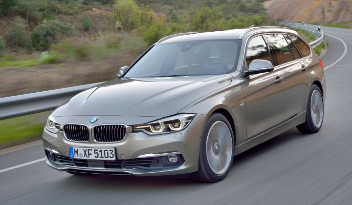 Lifecycle Freshening for the 2016 BMW 3 Series Sedan and Sports Wagon