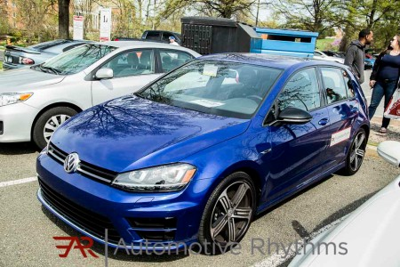 2015 Golf R shines at the College Park Tuning Car Show