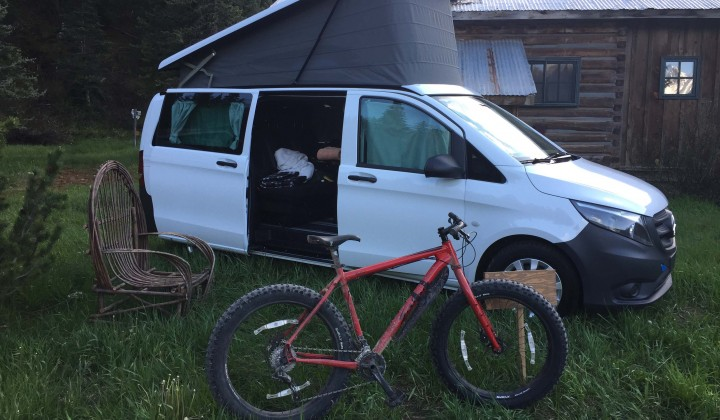 Mercedes-Benz Sprinter and Metris: Van Camping at Dunton Hot Springs, Colorado