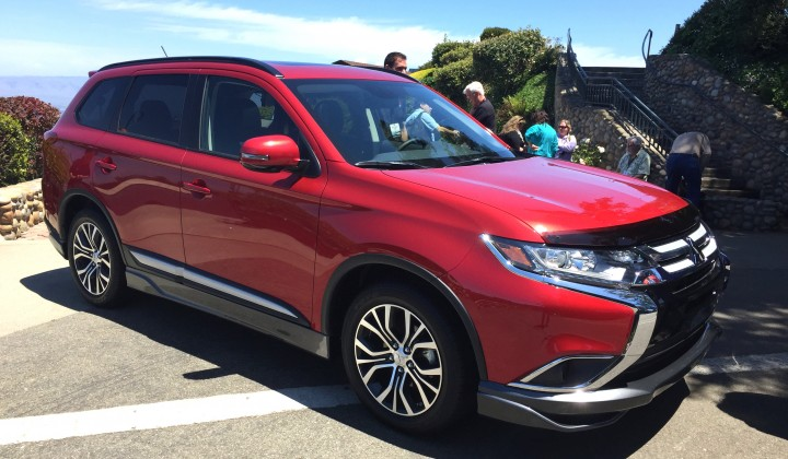 2016 Mitsubishi Outlander: Sporty Utility Evolution