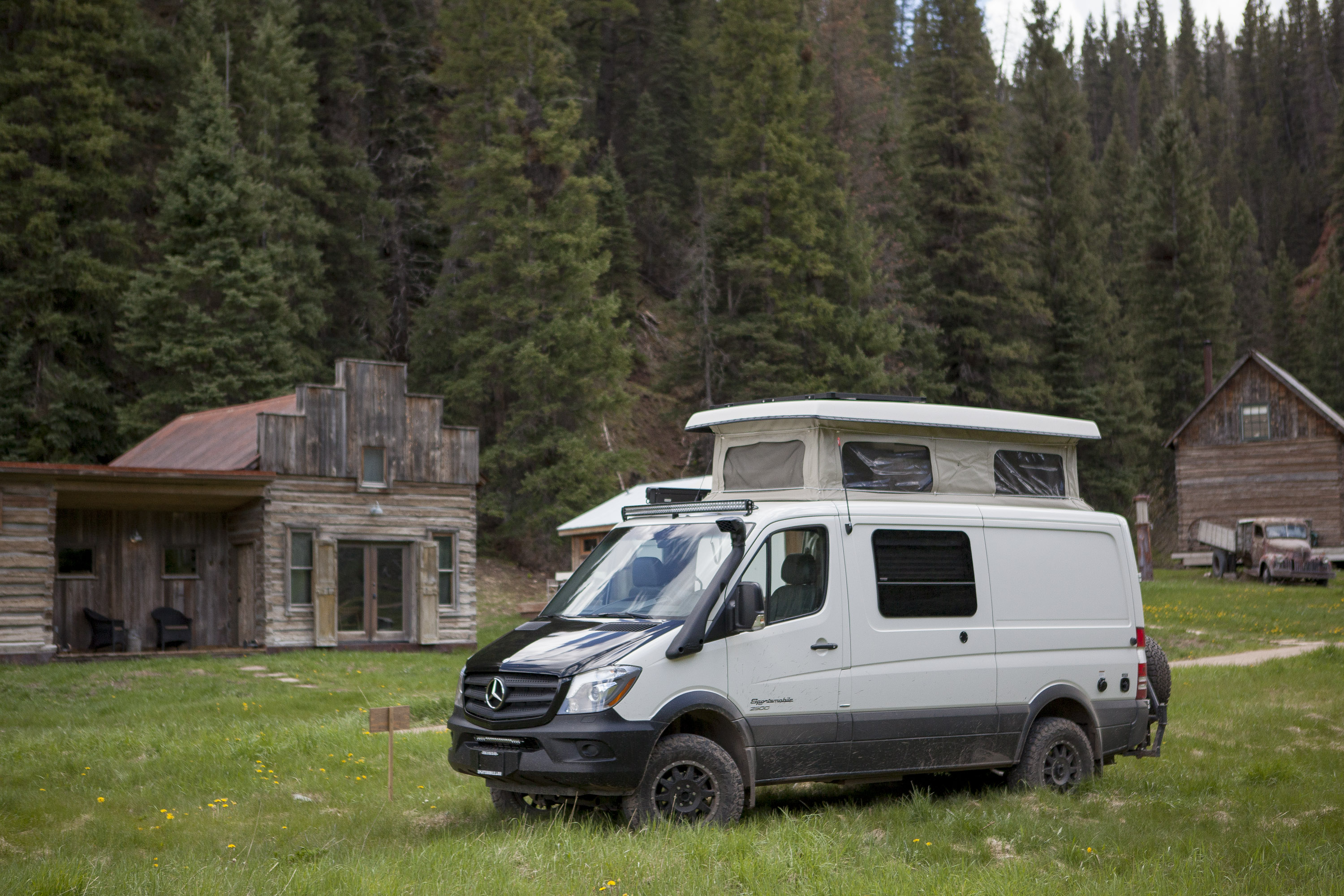 Mercedes Benz Sprinter And Metris Van Camping At Dunton Hot
