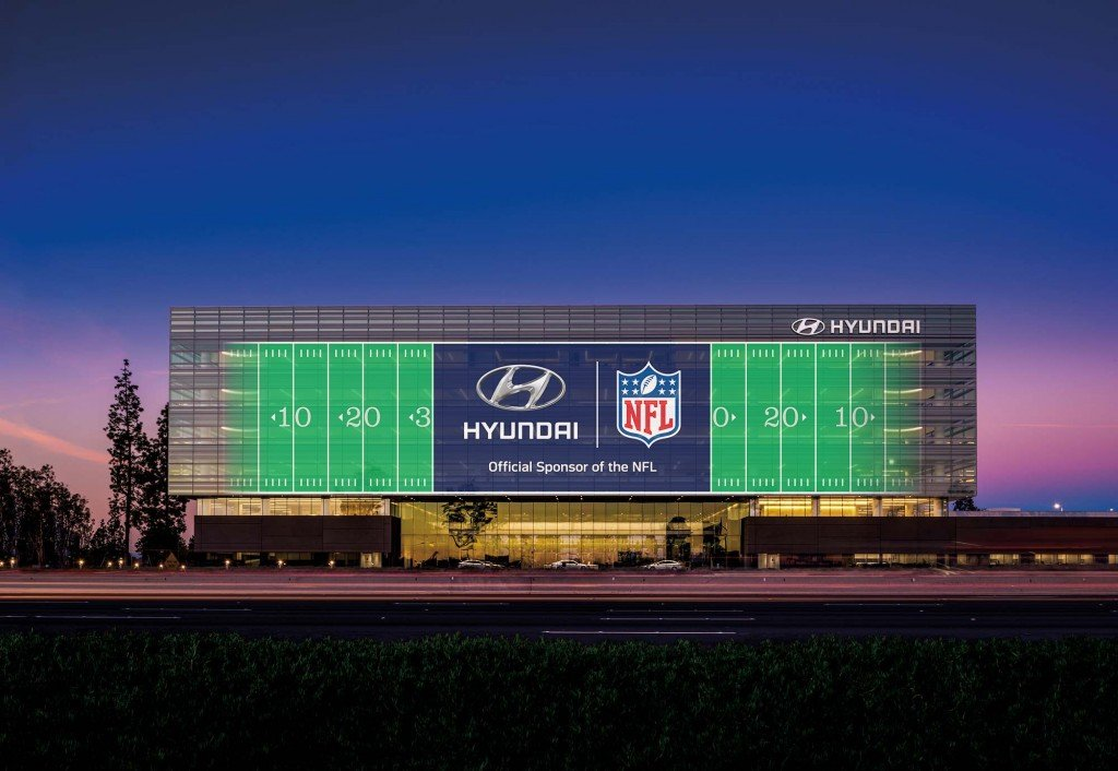 HYUNDAI GOING PRO: ANNOUNCES OFFICIAL NATIONAL FOOTBALL LEAGUE SPONSORSHIP