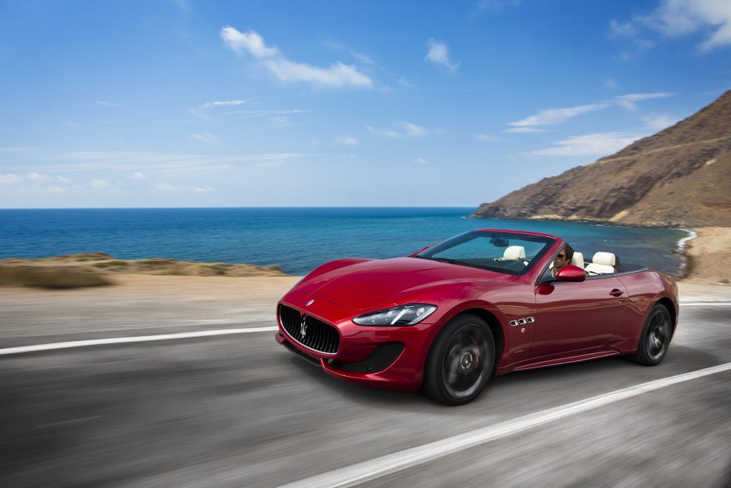 Maserati Granturismo Convertible Sport Automotive Rhythms