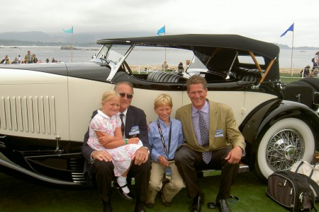 duPonts Prepare their Automobiles for Pebble Beach Concours d'Elegance