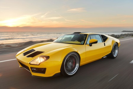 1971 De Tomaso Pantera by Ringbrothers: A Vision in Yellow