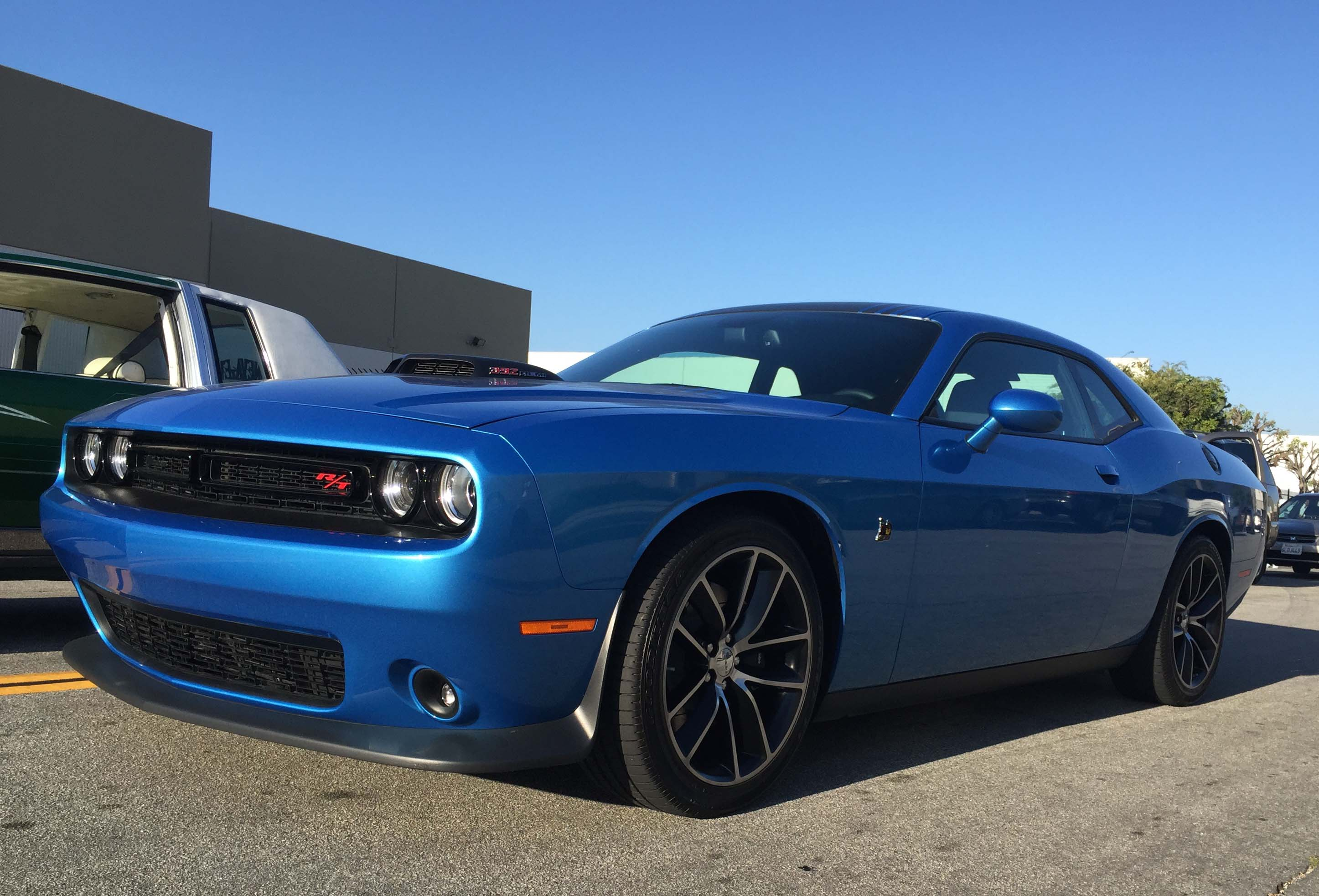 2015 Dodge Challenger Scat Pack Shaker Brutal Power