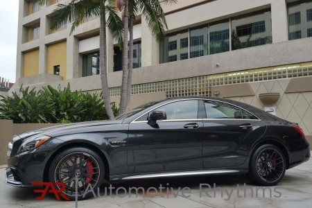Cali Cruising in the 2015 Mercedes-Benz CLS63 AMG S-Model 4Matic Coupe