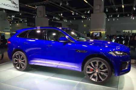 2016 Jaguar F-PACE: Off to the Races