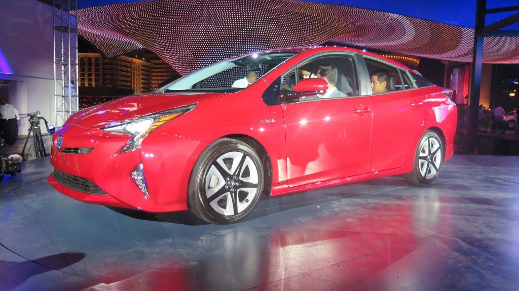 Toyota Prius World Premiere Beyond Possible In Las Vegas - Linq car show